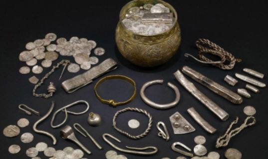 Father And Son's Life Changes Overnight After They Discovered Viking Treasure Worth £1m Which Was Looted From Round The World
