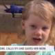 3-Year-Old Toddler Calls 911 And Saves Her Mom's Life After She Falls Unconscious On Floor 3-Year Old Calls 911