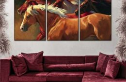 Flying Multi Panel Canvas Wall Art